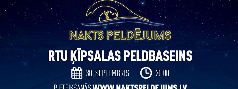 III Nakts Peldējums norisināsies 30.septembrī