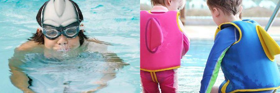Pašdarināto peldkostīmu konkurss Ķīpsalas peldbaseinā