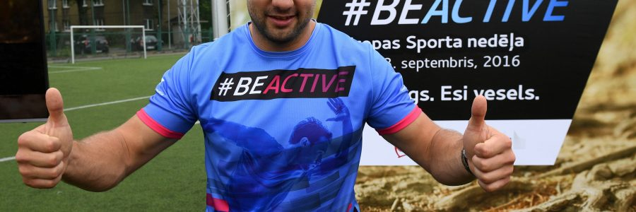 Piedalies IZAICINĀJUMĀ #beactiveLATVIA – Esi kustīgs un laimē balvas!