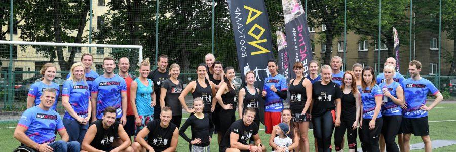 """Ar atklāto treniņu izziņos Eiropas Sporta nedēļu Latvijā """"Esi kustīgs. Esi vesels."""""""